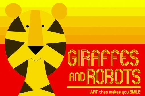 giraffes robots logo