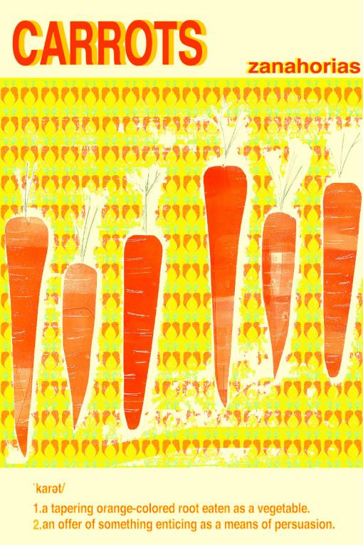 s carrots print